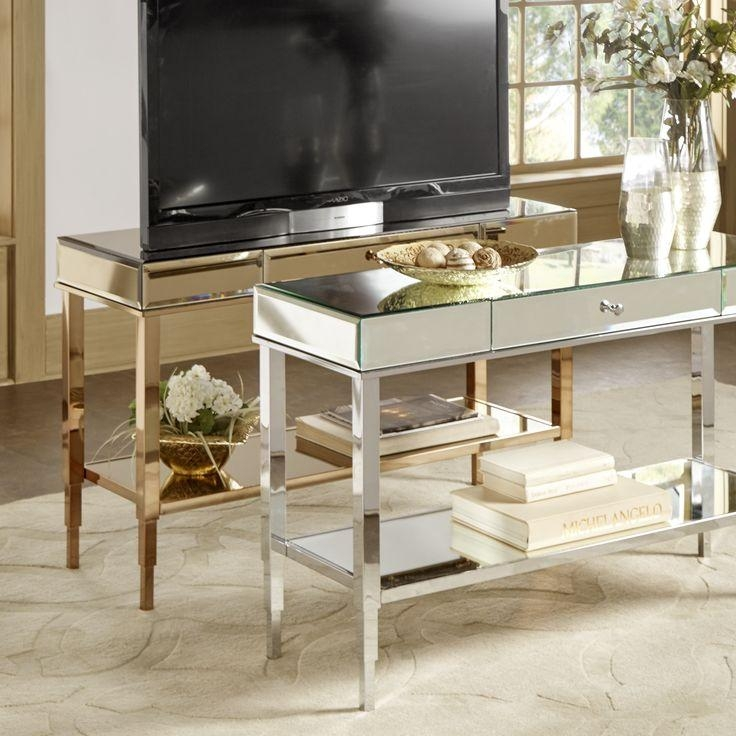 Best 25+ Silver Tv Stand Ideas On Pinterest | Acrylic Side Table Throughout Current Gold Tv Cabinets (View 3 of 20)