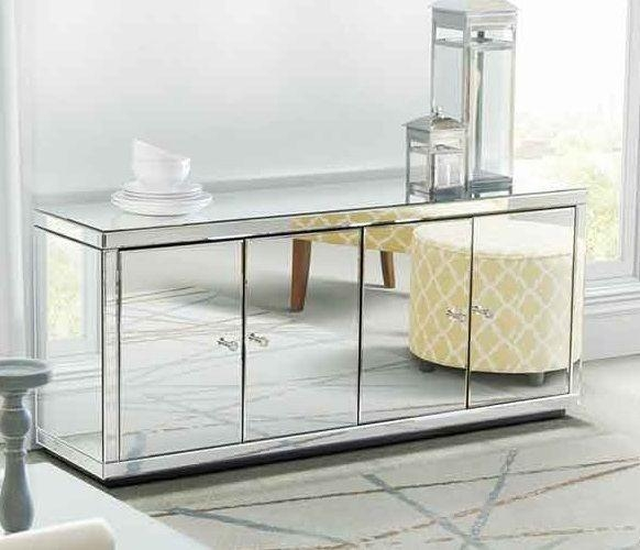 Best 25+ Silver Tv Stand Ideas On Pinterest | Acrylic Side Table With Most Recently Released Mirrored Tv Cabinets (Image 5 of 20)