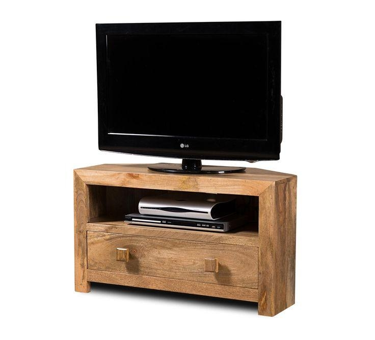 Best 25+ Small Corner Tv Stand Ideas On Pinterest | Bedroom Tv With Most Up To Date Compact Corner Tv Stands (View 3 of 20)