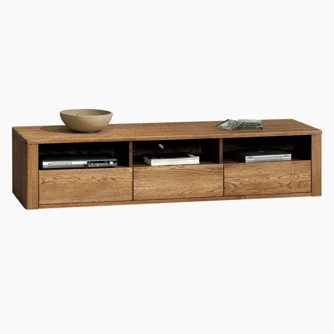 Best 25+ Solid Oak Tv Unit Ideas On Pinterest | Alcove Ideas, Oak For Most Up To Date Wooden Tv Stands And Cabinets (Image 8 of 20)