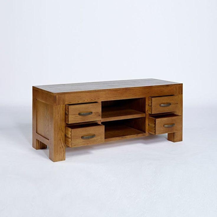 Best 25+ Solid Oak Tv Unit Ideas On Pinterest | Alcove Ideas, Oak Regarding Newest Santana Oak Tv Furniture (Image 9 of 20)
