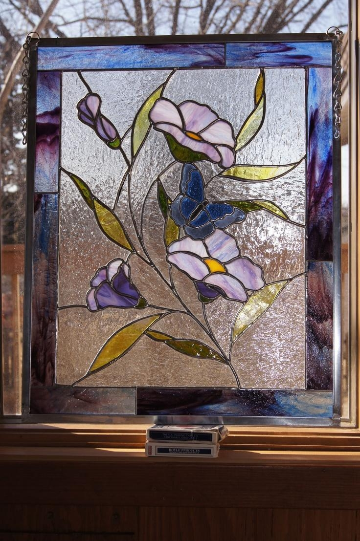 Best 25+ Stained Glass Flowers Ideas On Pinterest | Stained Glass Regarding Fused Glass Flower Wall Art (View 14 of 20)