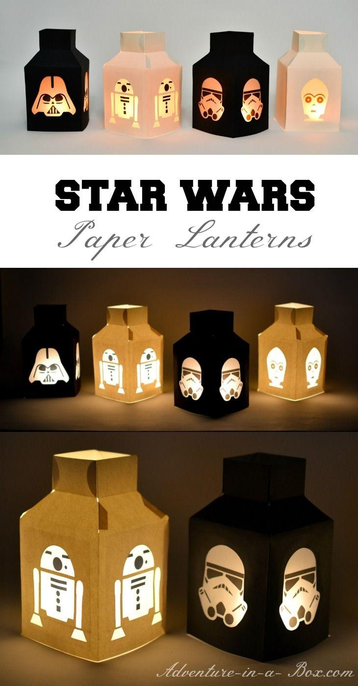 Best 25+ Star Wars Crafts Ideas On Pinterest | Star Wars Art For Diy Star Wars Wall Art (View 13 of 20)
