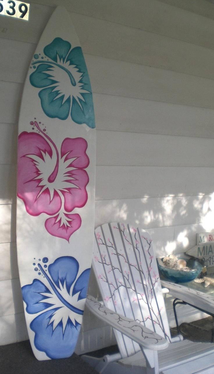 Best 25+ Surfboard Decor Ideas On Pinterest | Surfboard Art With Regard To Surf Board Wall Art (View 8 of 20)