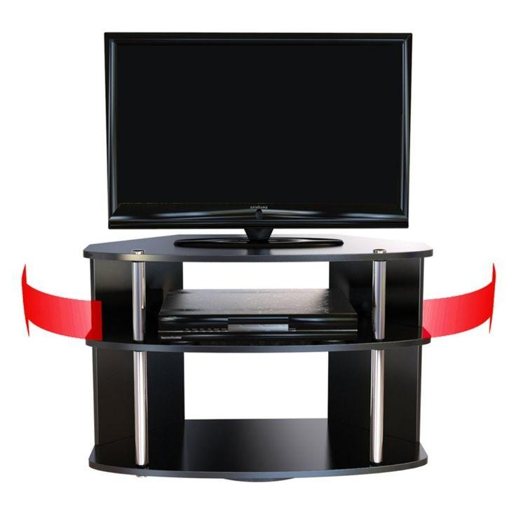 Best 25+ Swivel Tv Stand Ideas On Pinterest | Media Stands, Tv Inside Most Up To Date Swivel Black Glass Tv Stands (Image 10 of 20)