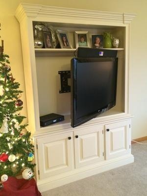Best 25+ Swivel Tv Wall Mount Ideas On Pinterest | Bedroom Tv Wall With Regard To 2018 Tilted Wall Mount For Tv (View 11 of 20)