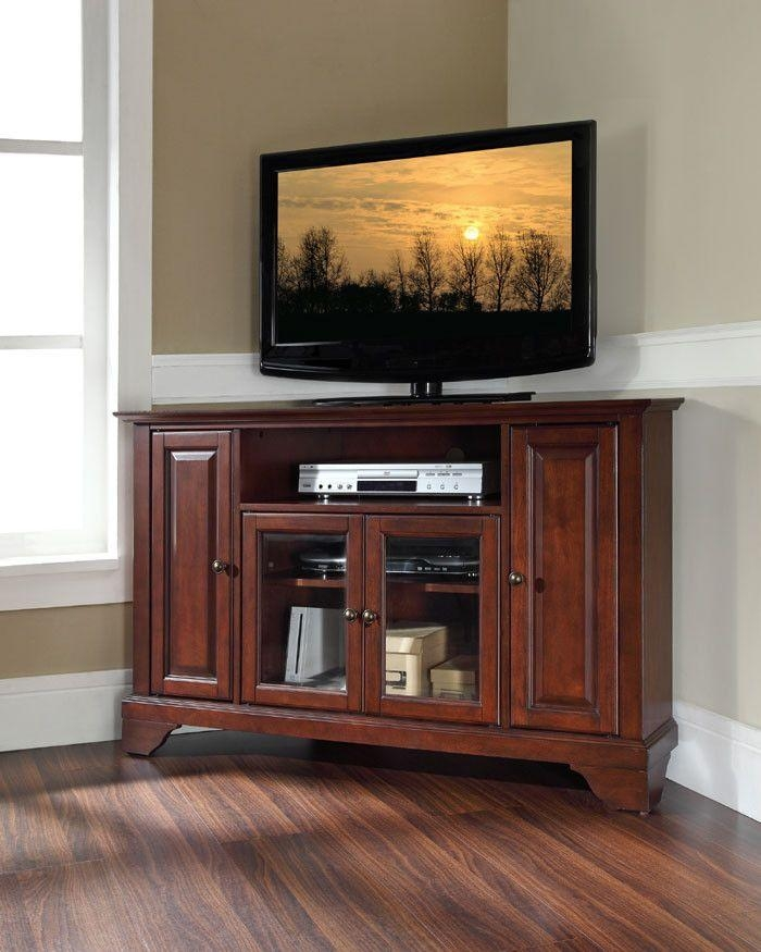 Best 25+ Tall Corner Tv Stand Ideas On Pinterest | Rustic Tv Unit For Current Mahogany Corner Tv Stands (Image 10 of 20)