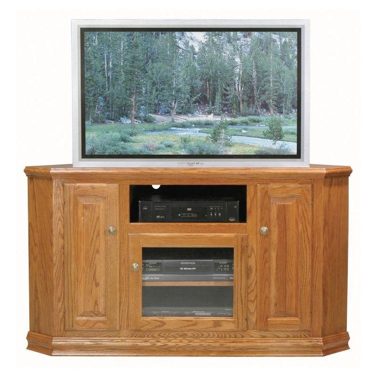 Best 25+ Tall Corner Tv Stand Ideas On Pinterest | Wooden Tv Throughout Current Large Oak Tv Stands (View 10 of 20)