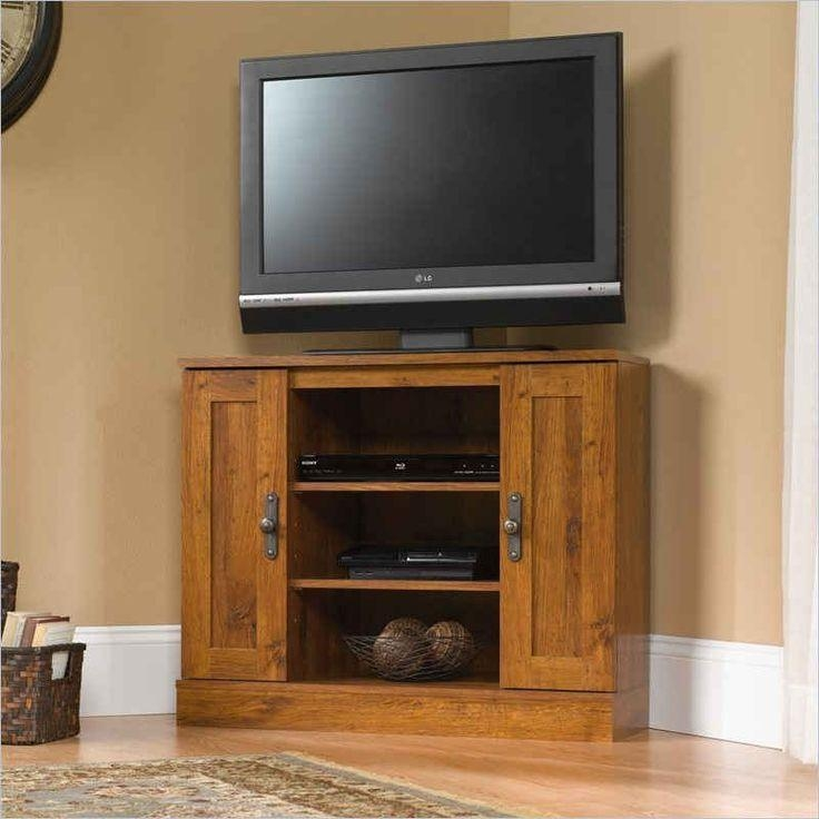 Best 25+ Tall Corner Tv Stand Ideas On Pinterest | Wooden Tv With Regard To Newest Corner Oak Tv Stands For Flat Screen (Image 7 of 20)