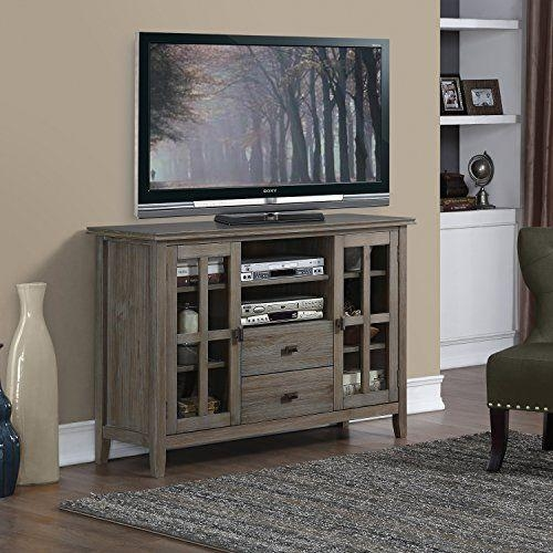 Best 25+ Tall Tv Stands Ideas On Pinterest | Tall Entertainment Pertaining To 2017 Tall Tv Stands For Flat Screen (Image 3 of 20)