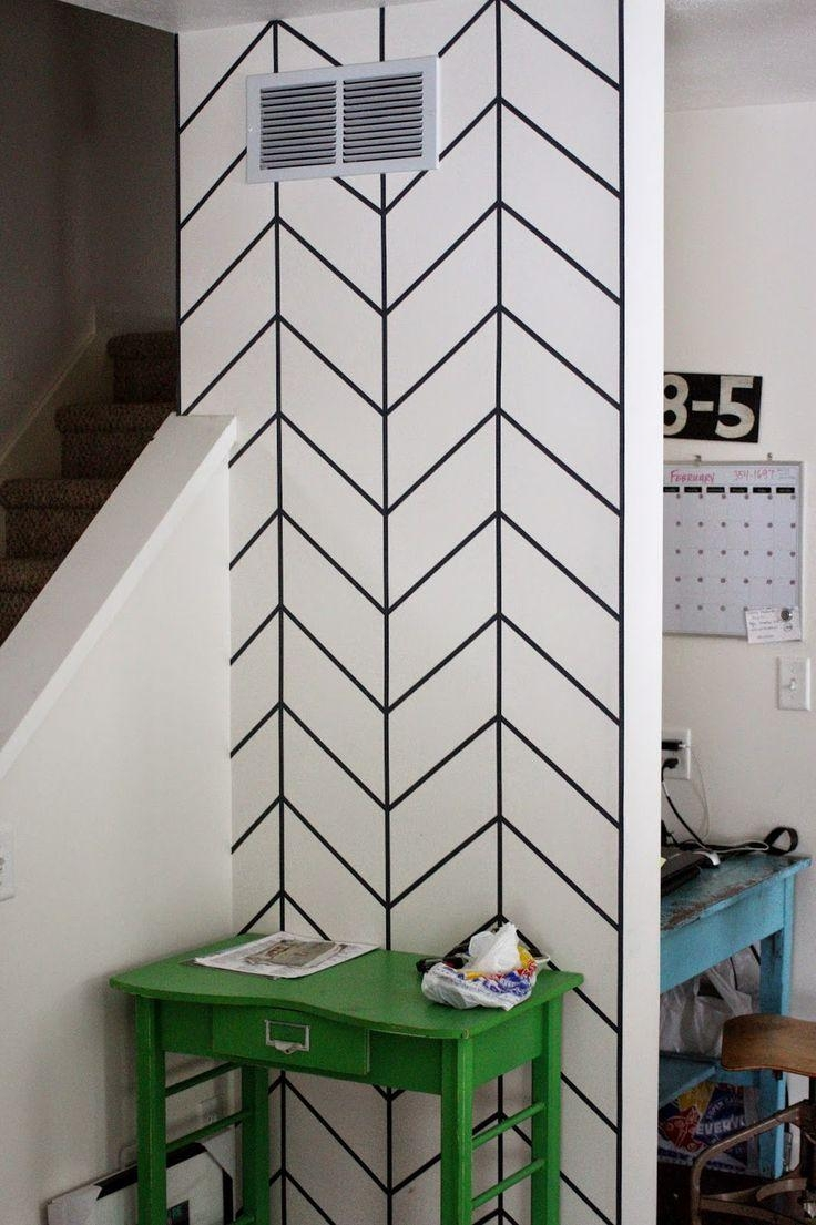 Best 25+ Tape Wall Art Ideas On Pinterest | Masking Tape Wall For Duct Tape Wall Art (View 9 of 20)