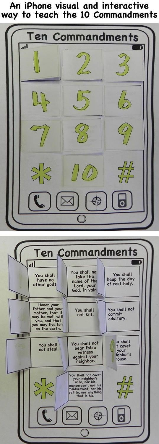 Best 25+ Ten Commandments Ideas On Pinterest | Ten Commandments In Regarding Ten Commandments Wall Art (View 11 of 20)