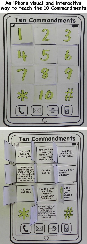 Best 25+ Ten Commandments Ideas On Pinterest   Ten Commandments In Regarding Ten Commandments Wall Art (Image 10 of 20)