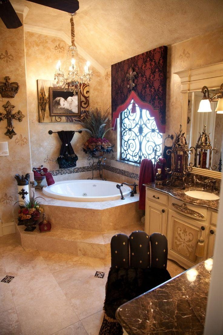 Best 25+ Tuscan Bathroom Decor Ideas On Pinterest | Bathtub Walls For Italian Wall Art For Bathroom (Image 6 of 20)