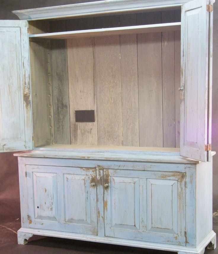 Best 25+ Tv Armoire Ideas On Pinterest | Armoire Redo, Linen For Best And Newest Tv Hutch Cabinets (View 2 of 20)
