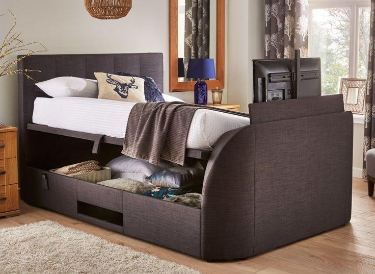 Best 25+ Tv Bed Frame Ideas On Pinterest | Diy Decorate Usb For Most Recently Released 32 Inch Tv Bed (Image 4 of 20)