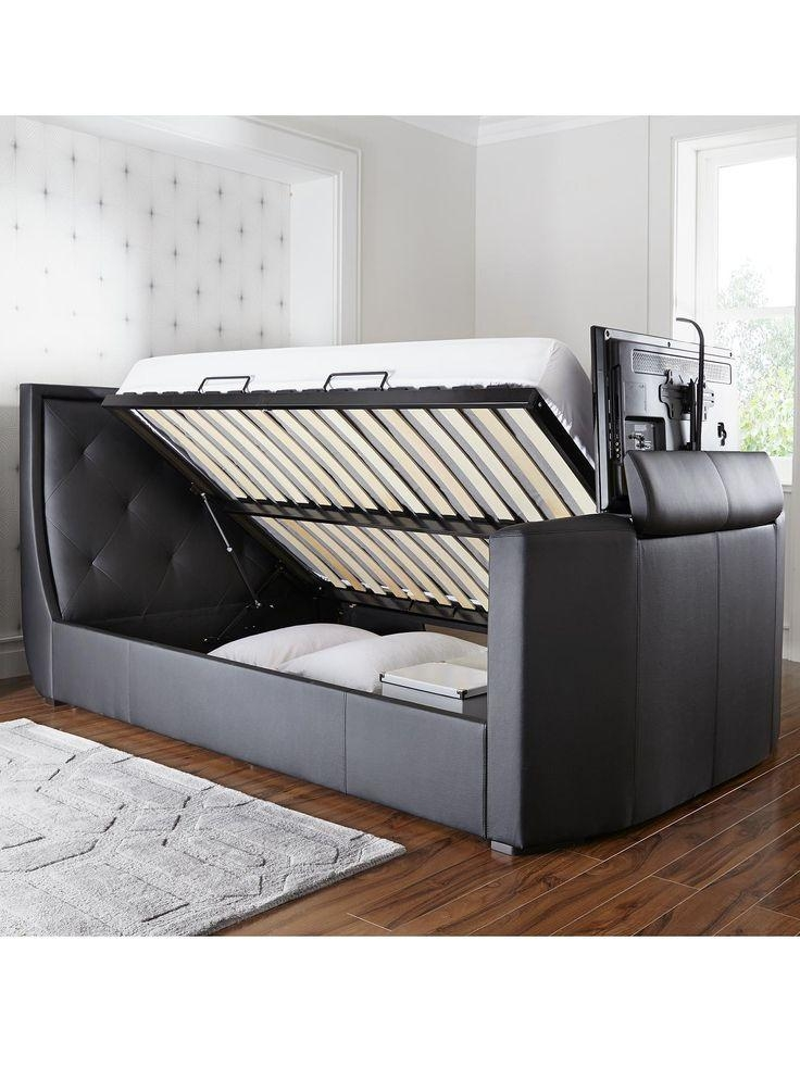 Best 25+ Tv Bed Frame Ideas On Pinterest | Diy Decorate Usb Regarding Most Up To Date 32 Inch Tv Bed (Image 7 of 20)