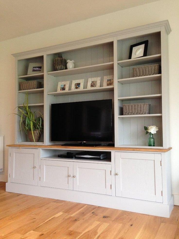 Best 25+ Tv Bookcase Ideas On Pinterest | Built In Tv Wall Unit Regarding 2017 Tv Stands With Bookcases (View 15 of 20)