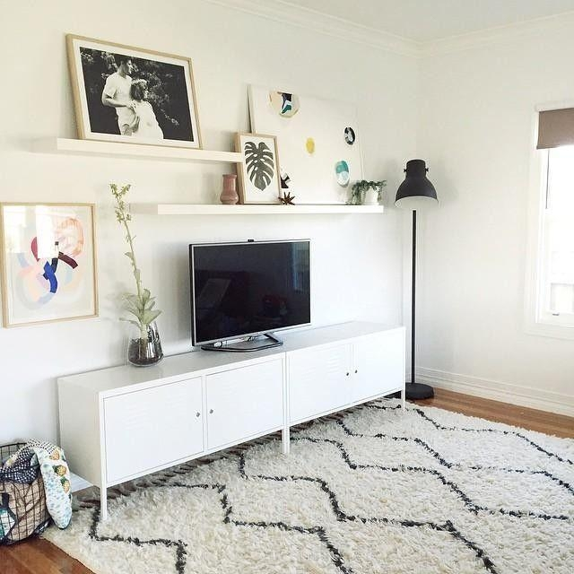 Best 25+ Tv Display Ideas On Pinterest | Tv Panel, Leather Poof Intended For Recent Over Tv Shelves (Image 13 of 20)