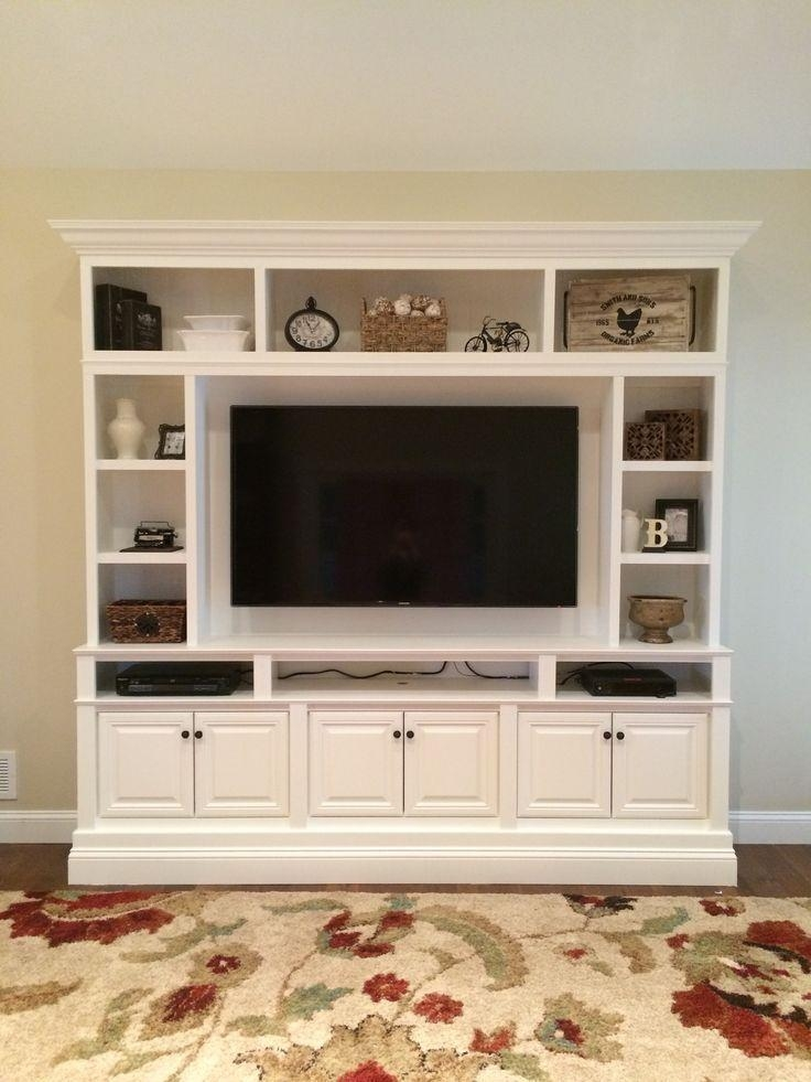 Best 25+ Tv Entertainment Centers Ideas On Pinterest | Tv Shelf Within Most Recently Released 60 Inch Tv Wall Units (View 10 of 20)