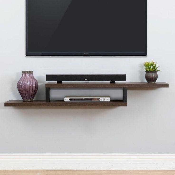 Best 25+ Tv Shelf Ideas On Pinterest | Floating Tv Shelf, Floating Regarding Most Current Single Shelf Tv Stands (Image 8 of 20)