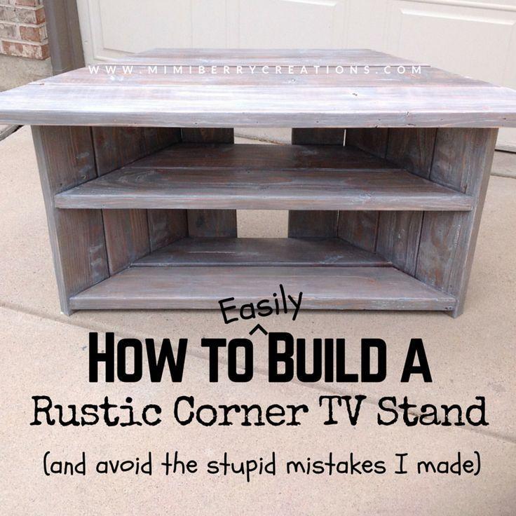 Best 25+ Tv Stand Corner Ideas On Pinterest   Corner Tv, Wood Inside Newest Corner Tv Tables Stands (View 14 of 20)