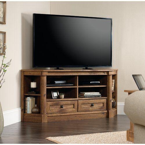 Best 25+ Tv Stand Corner Ideas On Pinterest | Corner Tv, Wood With Best And Newest Corner Tv Stands For 60 Inch Tv (Image 8 of 20)