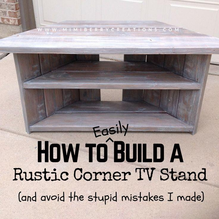 Best 25+ Tv Stand Corner Ideas On Pinterest | Corner Tv, Wood With Most Current Tv Stands For Corners (View 20 of 20)
