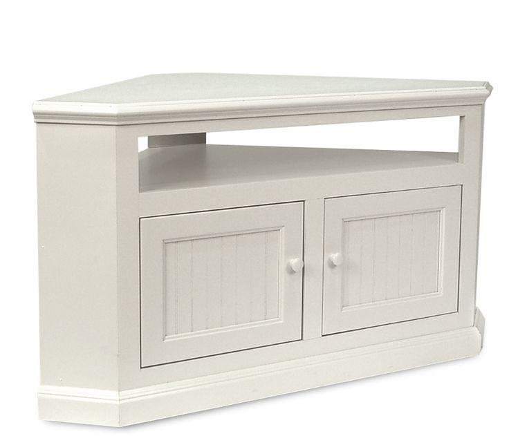20 Photos White Gloss Corner Tv Stand Tv Cabinet And
