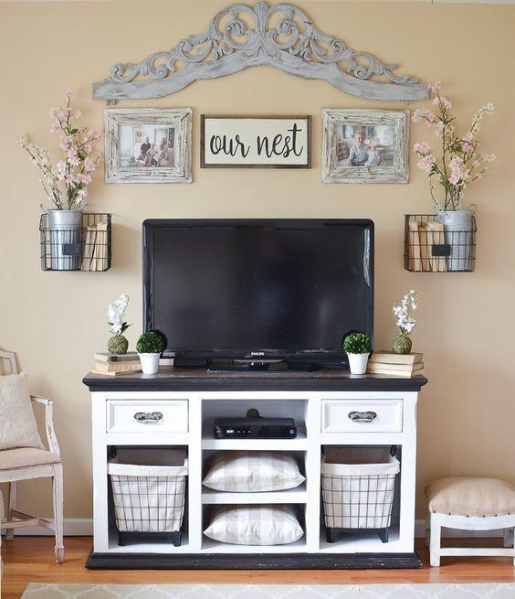 Best 25+ Tv Stand For Bedroom Ideas On Pinterest | Tv Stand With With Regard To Current Bedroom Tv Shelves (Image 14 of 20)
