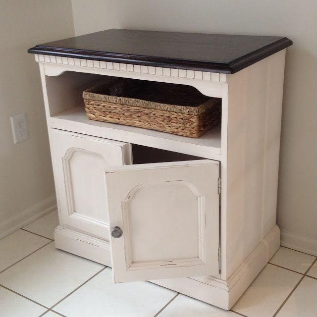 Best 25+ Tv Stand Makeover Ideas On Pinterest | Refurbished With 2017 White Painted Tv Cabinets (Image 10 of 20)