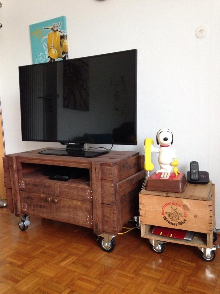 Best 25+ Tv Stand On Wheels Ideas On Pinterest | Tv Stand With Throughout Most Recently Released Wooden Tv Stand With Wheels (Image 10 of 20)