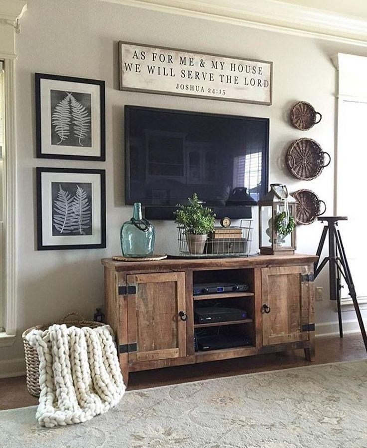 Best 25+ Tv Stands Ideas On Pinterest | Tv Stand Furniture, Diy Tv With Regard To Most Up To Date Country Style Tv Cabinets (Image 8 of 20)