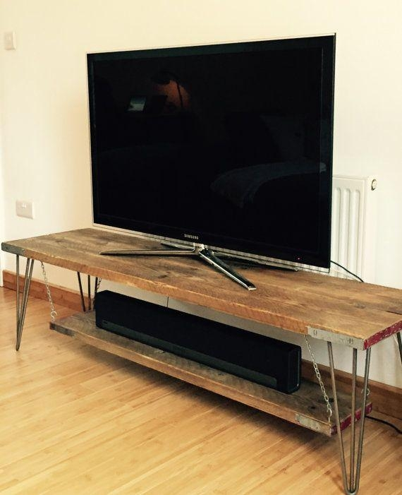 Best 25+ Tv Tables Ideas On Pinterest | Rustic Tv Console, Rustic Intended For 2018 Tv Table (Image 4 of 20)