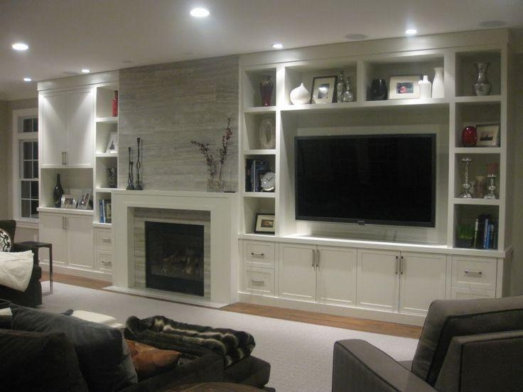 Best 25+ Tv Unit Ideas On Pinterest | Tv Units, Tv Cabinets And Tv Throughout Best And Newest Low Level Tv Storage Units (View 16 of 20)