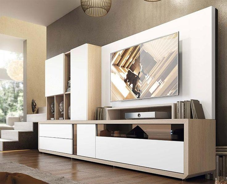 Best 25+ Tv Units With Storage Ideas On Pinterest | Glass Tv Unit Within  Most