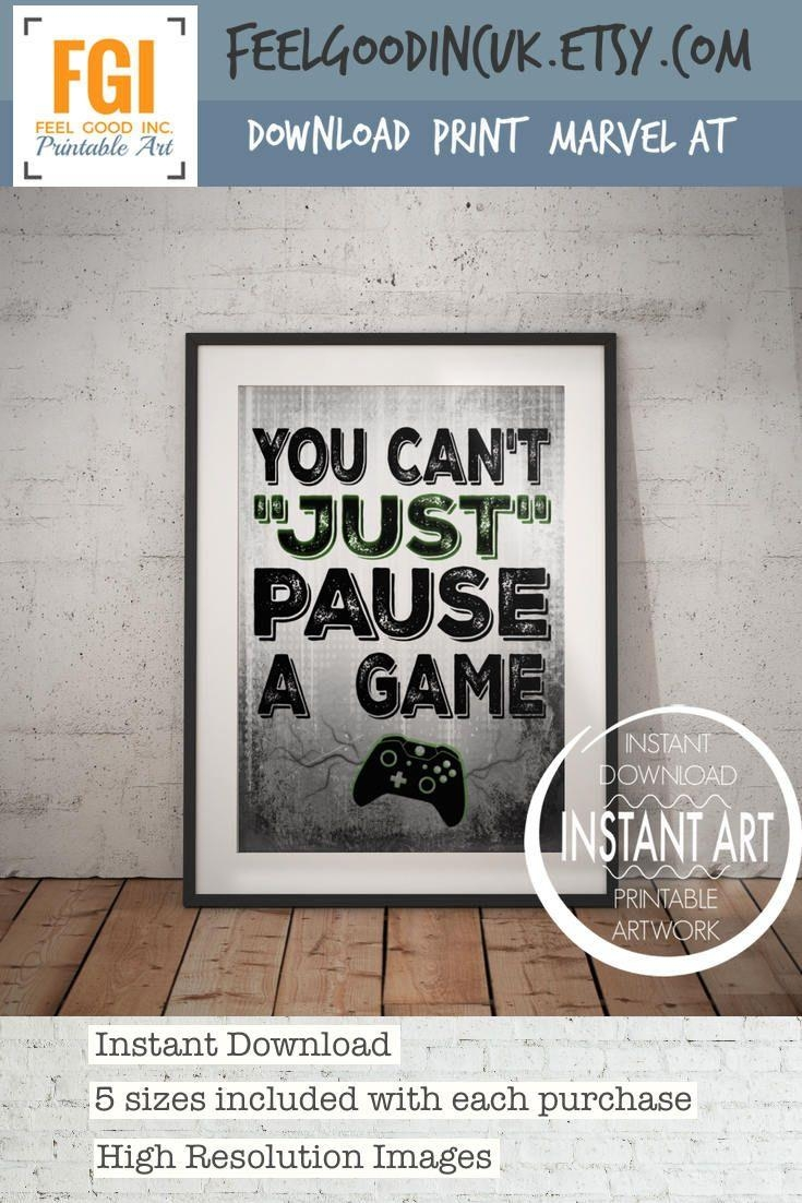 Best 25+ Video Game Decor Ideas On Pinterest | Video Game Rooms Intended For Wall Art For Game Room (Image 7 of 20)