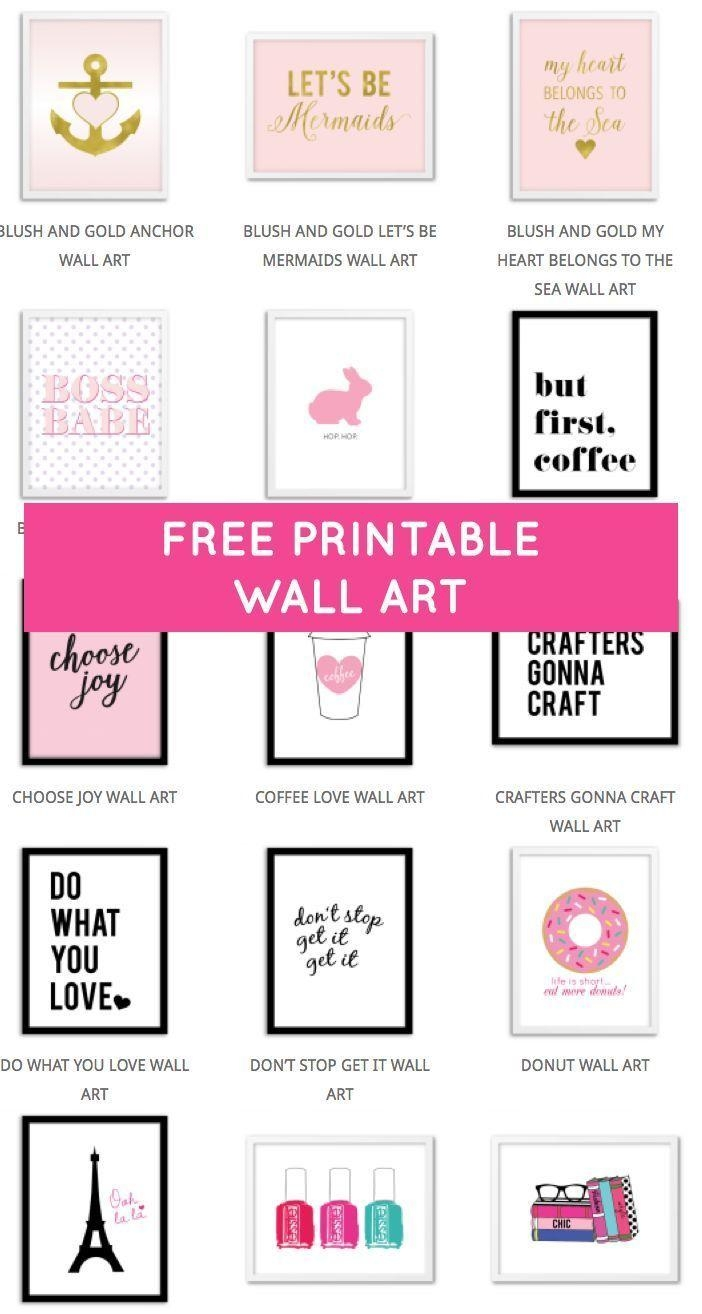 Best 25+ Wall Art Quotes Ideas On Pinterest | Designer Quotes Within Inspirational Wall Art For Girls (Image 10 of 20)
