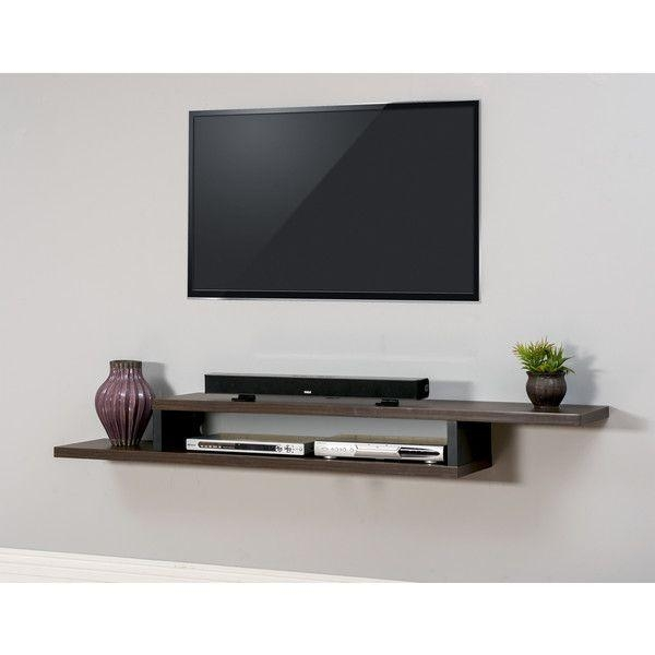 Best 25+ Wall Mount Tv Shelf Ideas On Pinterest | Tv Wall Mount With Regard To Most Current Console Under Wall Mounted Tv (View 15 of 20)