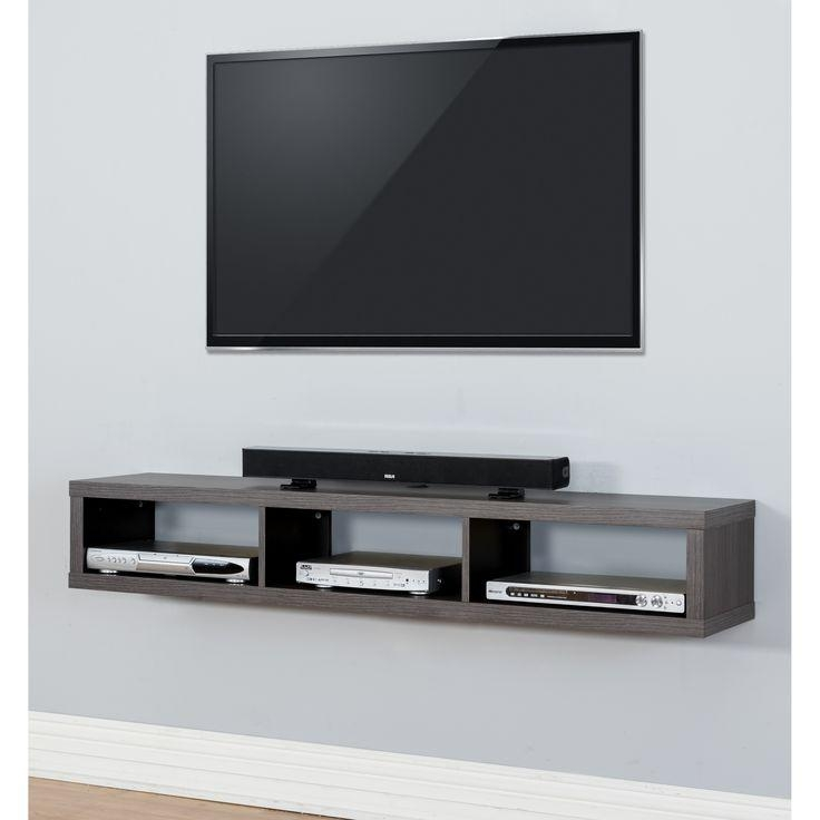 Best 25+ Wall Mount Tv Stand Ideas On Pinterest | Tv Mount Stand In Most Recent White Wall Mounted Tv Stands (View 3 of 20)