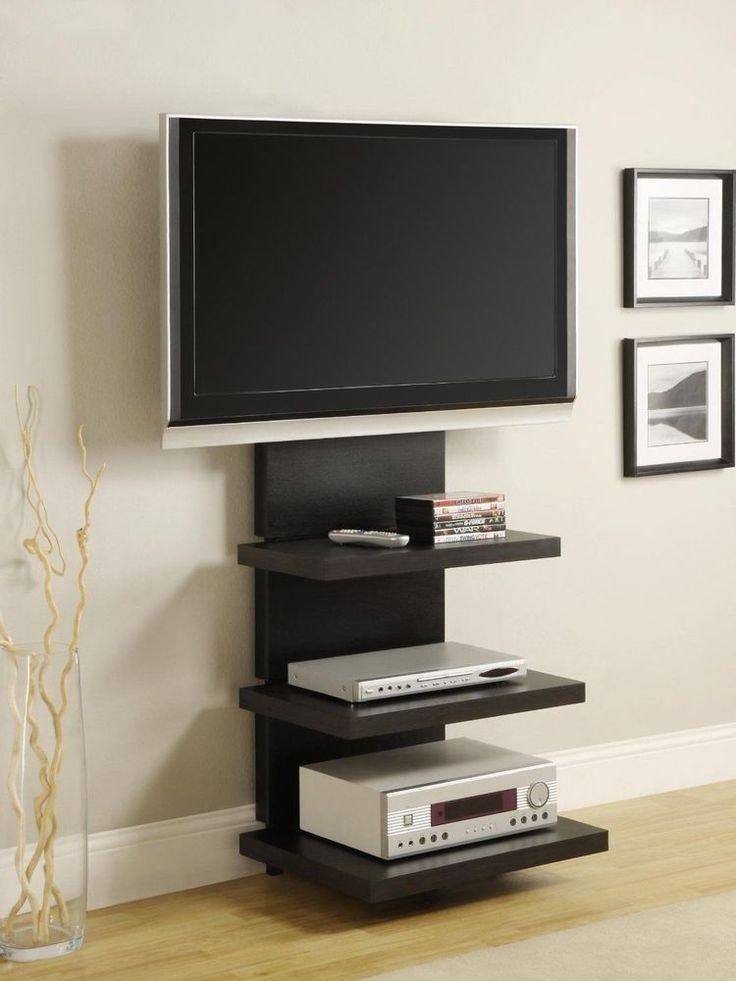 Best 25+ Wall Mount Tv Stand Ideas On Pinterest | Tv Mount Stand Regarding 2018 Wall Mounted Tv Stands For Flat Screens (View 2 of 20)