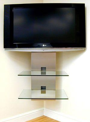 Best 25+ Wall Mount Tv Stand Ideas On Pinterest | Wall Mounted Tv In Newest Wall Mounted Tv Stand With Shelves (View 3 of 20)
