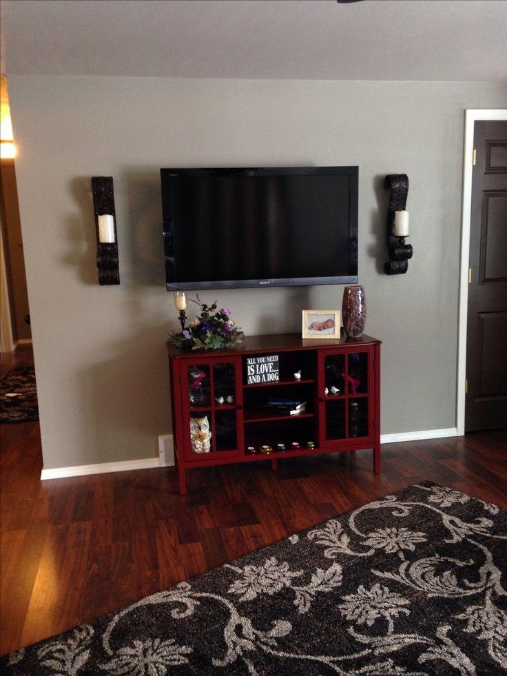 Best 25+ Wall Mount Tv Stand Ideas On Pinterest   Wall Mounted Tv Regarding Most Up To Date Wall Mounted Tv Stand With Shelves (Image 7 of 20)