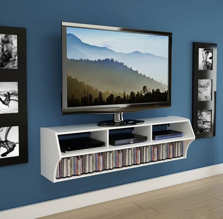 Best 25+ Wall Mounted Tv Console Ideas On Pinterest | Wall Mount Inside Most Current Console Under Wall Mounted Tv (View 10 of 20)
