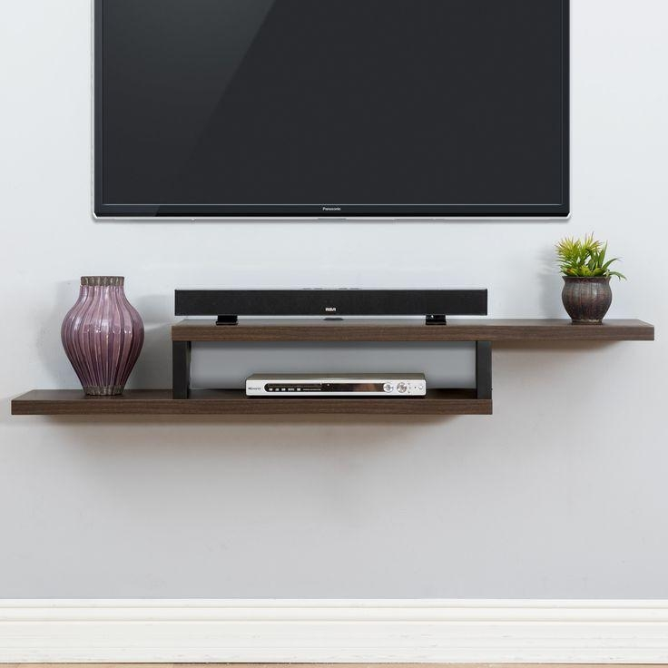Best 25+ Wall Mounted Tv Console Ideas On Pinterest | Wall Mount Throughout Best And Newest Console Under Wall Mounted Tv (View 16 of 20)