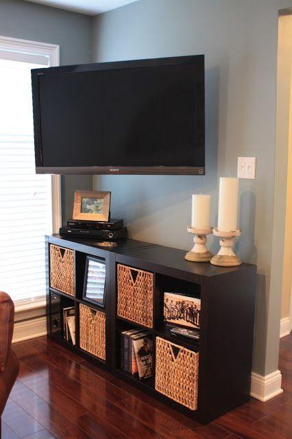 Best 25+ Wall Mounted Tv Ideas On Pinterest | Mounted Tv, Hide Tv With Newest Console Under Wall Mounted Tv (View 2 of 20)
