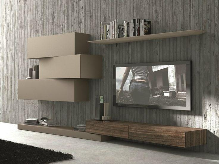 Best 25+ Wall Mounted Tv Unit Ideas On Pinterest   Tv Mount Stand In Most Recent Wall Mounted Tv Stand With Shelves (Image 9 of 20)