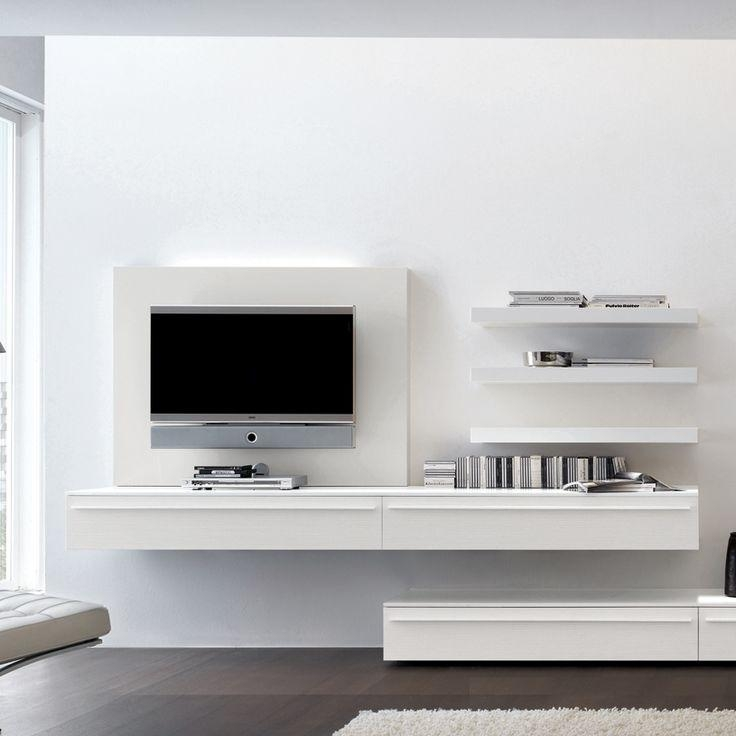 Best 25+ Wall Mounted Tv Unit Ideas On Pinterest | Tv Unit, Tv Inside Best And Newest Single Shelf Tv Stands (View 8 of 20)