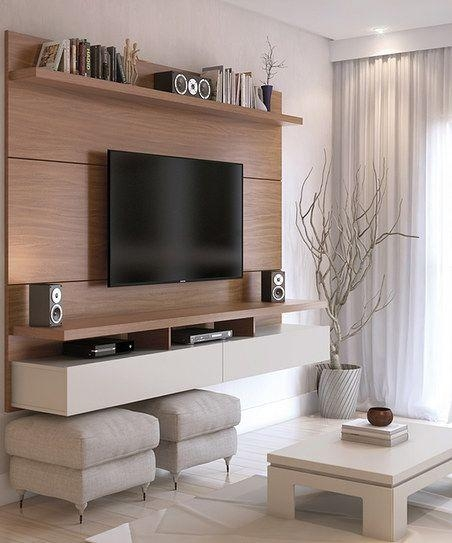 Best 25+ Wall Mounted Tv Unit Ideas On Pinterest | Tv Unit, Tv Pertaining To Best And Newest White Wall Mounted Tv Stands (Image 7 of 20)