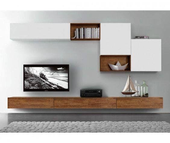 Best 25+ Wall Mounted Tv Unit Ideas On Pinterest | Tv Unit, Tv Pertaining To Newest On The Wall Tv Units (View 4 of 20)
